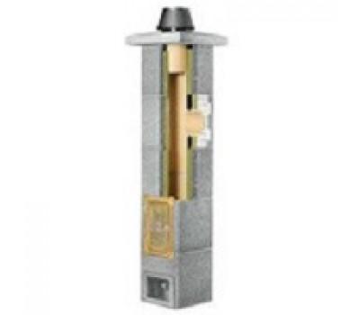 Комплект дымохода Schiedel Rondo Plus d=160мм с тройником 90°, высота 4м