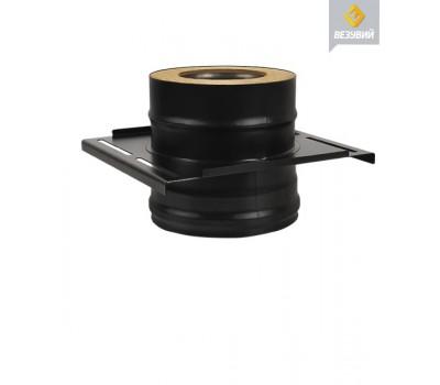 ПЛОЩАДКА МОНТАЖНАЯ ВЕЗУВИЙ BLACK ДВУХКОНТУРНАЯ 115 x 180 ММ