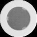 Решетка вентиляционная Белая d=100мм,125мм,150мм.
