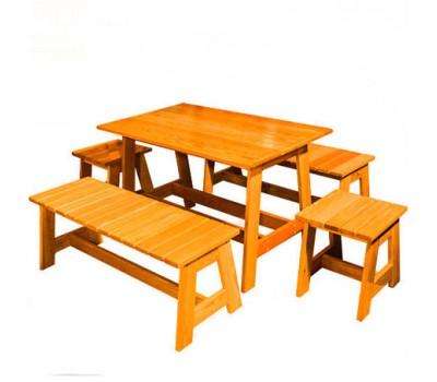 Стол, лавка, табуретка