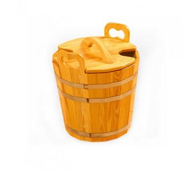 Запарник с крышкой для бани 40л