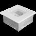 Решетка вентиляционная Белая 11*11