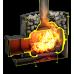 Дровяная печь-каменка Теплодар Былина-18Ч Панорама
