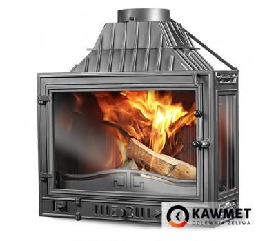 Каминная топка Kawmet W3PB 16,7 кВт с дополнительным правым стеклом
